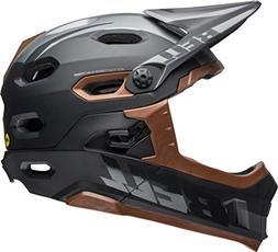 Bell Super DH MIPS Bike Helmet - Matte/Gloss Black/Gum Mediu