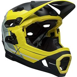 Bell Super DH MIPS Helmet Yellow/Silver/Black Recourse, M