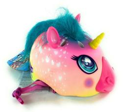 Raskullz Super Rainbow Unicorn Hair Bike Helmet, Child 5+