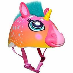 Raskullz Super Rainbow Unicorn With Hair Dark Pink Child's B