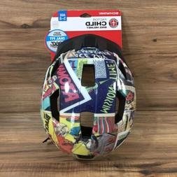 superheros factor child bike helmet dial fit