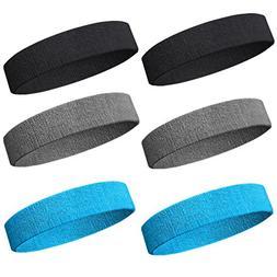 NEXTOUR Sweatband Headband/Wristband Perfect for Basketball,