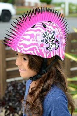 Raskullz T-Rex Bonez Mohawk KIDS AGES 3+ Bike Skate Helmet