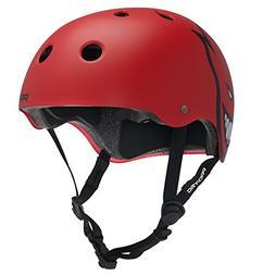 PROTEC Original Classic Helmet CPSC-Certified, Spitfire Red,
