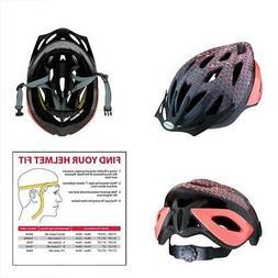 Schwinn Thrasher Women's Microshell Bicycle Helmet, Pink/Cor