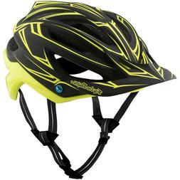 Troy Lee Designs TLD A2 MIPS MTB Bicycle Helmet Pinstripe Bl