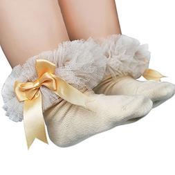 Londony ♥‿♥ Toddler Baby Girls Elegant Bowknot Ruffles