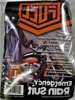 Fuel Helmets Travel Suit Black - Large