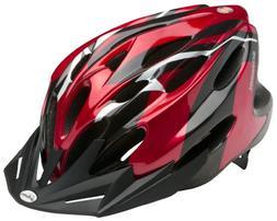 Schwinn Traveler Adult Bicycle Helmet, Red/Black