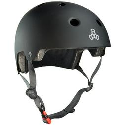 Triple 8 Brainsaver Dual Certified Helmet Skate, BMX Roller
