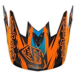 Troy Lee TroyLee D3 Visor Thunder Orange Helmet Spares Orang