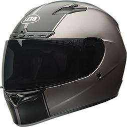 Bell Unisex  Rally Matte Titanium Qualifier DLX Full-Face, D