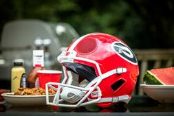 University of Georgia Full Size Bluetooth Speaker Helmet FH1