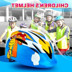 US Boys Girls Kids Safety Helmet for Bicycle Cycling Skatebo