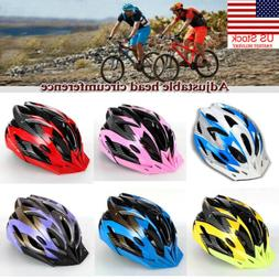US Cycling Bicycle Adult Men Womens Bike Helmet With Visor M