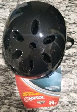 v 17 adult multi sport helmet black
