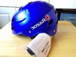 Razor V-17 Child Multi-Sport Bicycle Bike Helmet Satin Blue