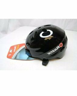 Razor V-17 Youth Multi-Sport Helmet Gloss Black Kids 8+ Bran