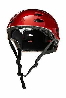 Razor V-17 Youth Multi-Sport Helmet Lucid Red