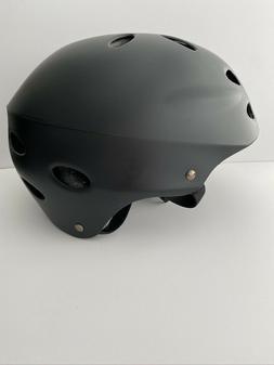 v17 helmet matte black safety bike bicycle