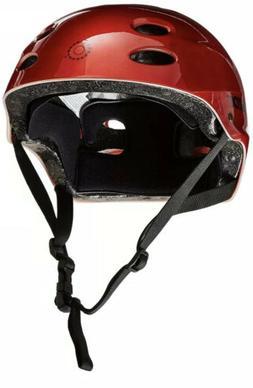 Razor V17 Youth Multi Sport / Bike Helmet - Lucid Red - For