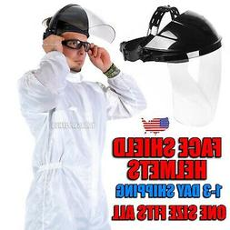 Grinding Face Shield Clear Face Shield Helmets Welding Safet