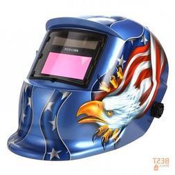 Welding Face Mask Electric Auto Darkening Helmet For Men Wom