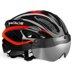 Women Adjustable MTB Road Bike Cycling Helmets With Detachab