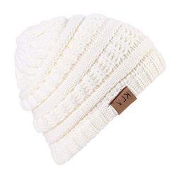 New Women Hats for Winter,Teen Girls Warm Wool Snow Ski Skul