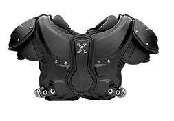 Xenith XFlexion Velocity Shoulder Pad for Adults, Large, Bla