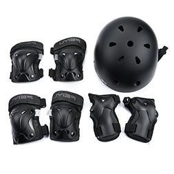 Weanas Kids Youth Adjustable Sports Protective Gear Set, Saf