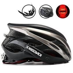 KINGBIKE Adult Bike Helmet Ultralight Bicycle Helmets Rain C