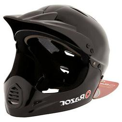 Razor Youth Gloss Black Full Face Bicycle Helmet