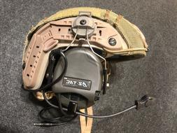 Z Tactical SORDIN  Military Style Headset with ARC Helmet Ra