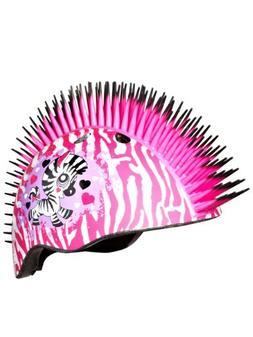 Raskullz Zebra Mohawk Kids Skate Helmet One Size Pink